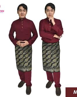 BAJU MELAYU MALAYSIA DEWASA CEKAK MUSANG